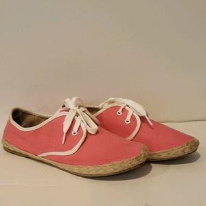 FREE w/purchase F21 Espadrilles hot/neon pink